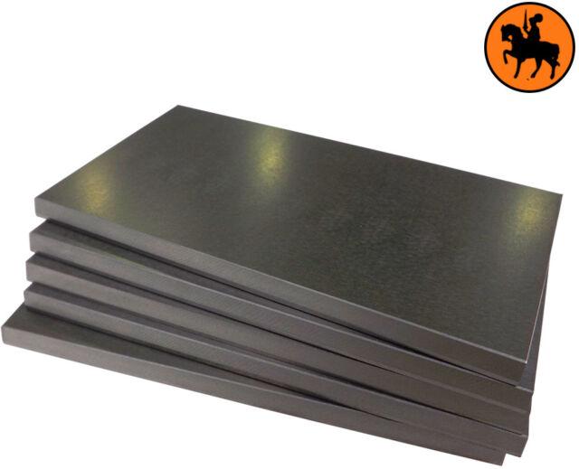 Rietschle VLT 40 DLT 40 KLT 40 Vacuum Carbon Vane Blade Set of 7 Part no 518943