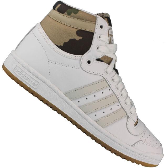 huge discount fee15 fea05 adidas Originals Top Ten Hi High Womens Sneaker Gym Shoe Lac