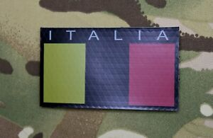 infrared italia flag patch ita col moschin alpini comsubin ir subdued colors ebay ebay
