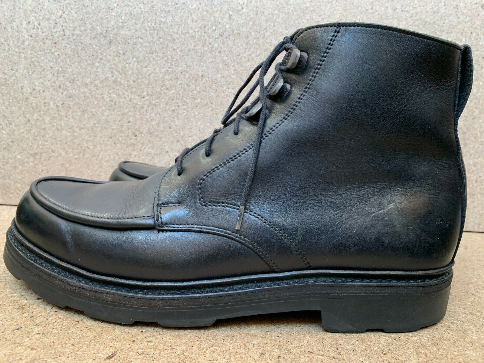 Ludwig Reiter Dachstein Black Boots Shoes Size UK 7.5   US 8.5