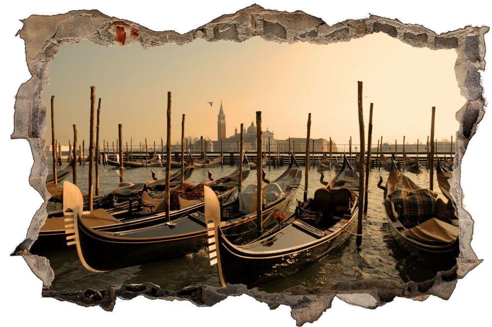 Barche al pontile porto mare Parete Tatuaggio Parete Adesivo Parete Adesivo d0886