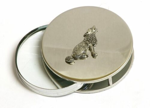 Wolf Magnifying Desktop Reading Glass Wild Life Animal Nature Office Gift