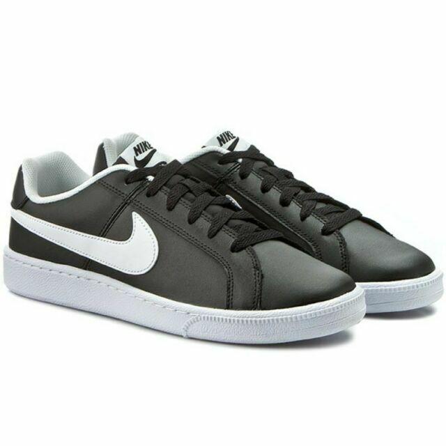 Honestidad siglo Surrey  Nike Court Royale, Zapatillas de Tenis para Hombre - Negro/Blanco, (EUR 46)  | Compra online en eBay