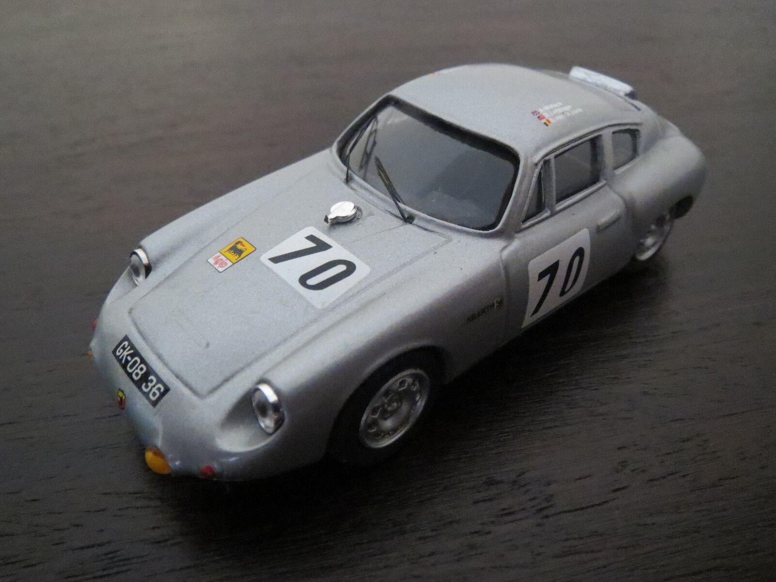 RARITÄT  Exem Porsche Abarth 695 GS Le Mans 1962, silber,  70, 1 43, TOP