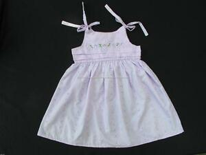 60-OFF-FREE-BAG-NICOLE-amp-ABBY-039-S-LAVENDER-EYELET-EMPIRE-DRESS-SZ-4T-BNEW-15