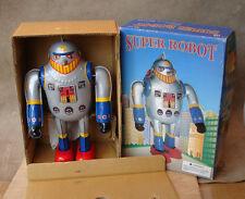 BRAND NEW SUPER ROBOT MS 417 WIND UP TIN ROBOT