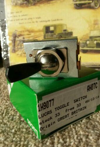 2 Speed Wiper Switch /& Tab Genuine LUCAS BHA4786 560407 Land Rover Series 2a 3