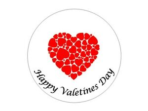 35 Happy Valentines Day Stickers Labels Hearts 552 Love Heart