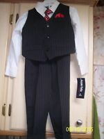Boy's Size 4t 4-piece Suit By Happy Fella Jcpenney