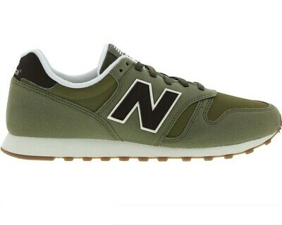 Original Para Hombre New Balance 373 Verde Oliva Marrón Verde entrenadores ML373OI   eBay