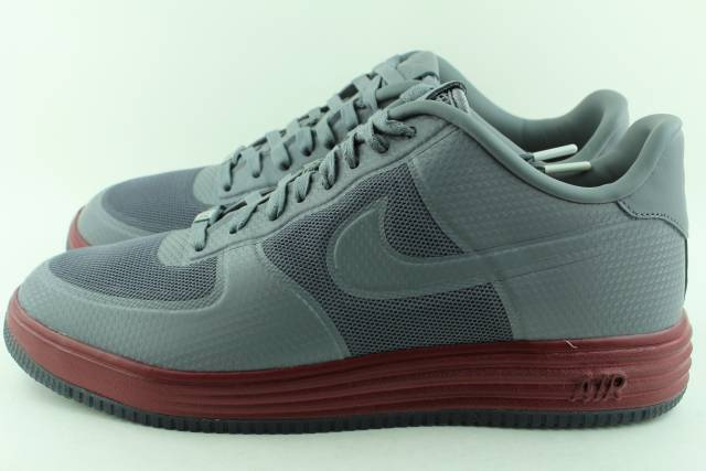 NIKE LUNAR FORCE 1 FUSE NRG COOL GREY MEN Size 9.5 NEW RARE AUTHENTIC