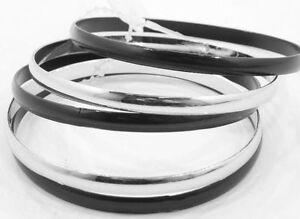 bracciale multifilo nero pandora