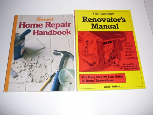 1 of 1 - The Australian Renovator's Manual by Allan Staines / Home Repair Handbook