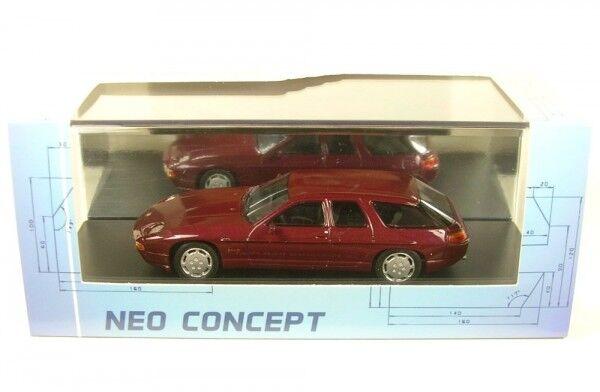 PORSCHE 928 H50 CONCEPT (red Oscuro) 1987