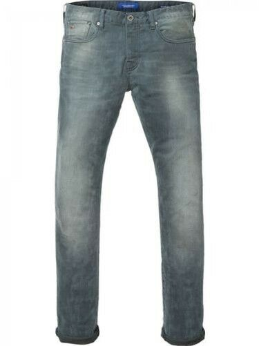 Scotch & Soda Men's Jeans Ralston - Slim Fit - bluee - Concrete Bleach