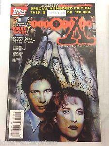 X-Files #1 Comic Book Topps 1995 - Charlie Adlard
