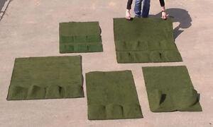 Pflanztasche Pflanzkorb Ufermatte Bewuchsmatte Kokosmatte Teich Bau Teichpflanze