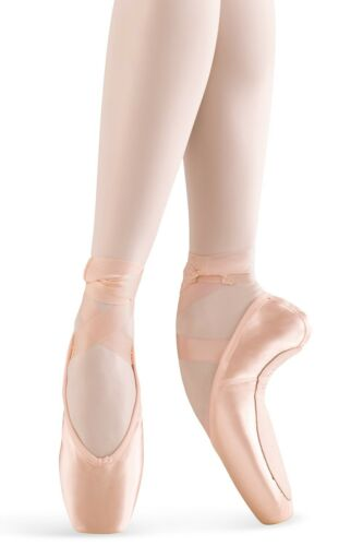 "Leo/'s /""Inspiration/"" Satin Ballet Pointe Shoes Lt Pink Full or 3//4 Shank NEW"