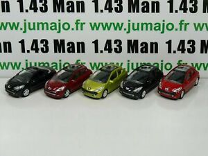 LOT-n-2-5-X-3-inches-1-64-PEUGEOT-NOREV-207-3-porte-cc
