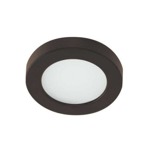HR-LED90-27-DB Dark Bronze WAC Edge Lit LED Button Light 2700K Warm Wht