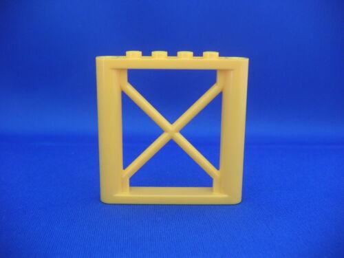 Lego Pilier à structure jaune 1x6x5 Neuf Yellow Support Rectangular NEW 64448