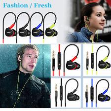 Waterproof Earphones In Ear Earbuds HIFI Sport Headphones Bass Headset + Mic XG