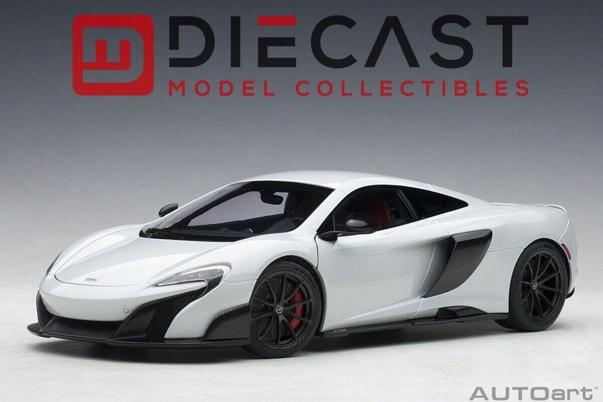 marca en liquidación de venta Autoart 76046 McLaren 675LT 675LT 675LT (blancoo) 1 18TH Escala de sílice  el mas reciente