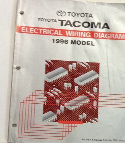 1996 TOYOTA TACOMA Electrical Wiring Diagrams EWD Service ...