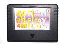 Action replay plus 4M Sega Saturn Nuevo New RAM Negro