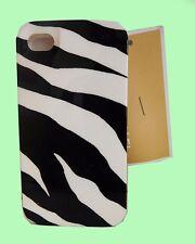 "Original MICHAEL KORS ""Zebra"" Black/White iPhone 4 Cover Case Msrp $38.00"