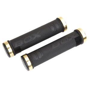 Box ODI Hex Lock-On MTB BMX Grips Black//Gold BX-HG14BKHEX-GD