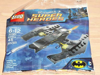 """NEW FACTORY SEALED POLYBAG LEGO SUPER HEROES Set No.30301 /""""Batwing/"""""""