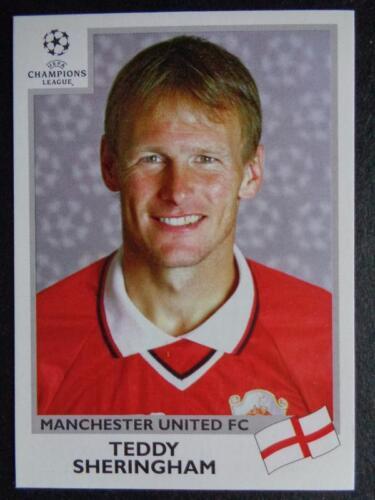 Manchester United Peluche Inc #135 Panini Liga de Campeones 1999-2000