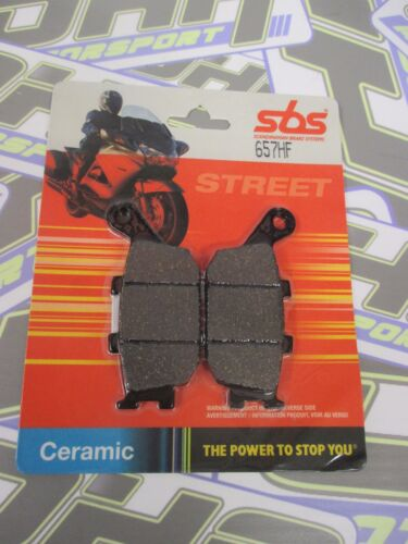 SBS Rear Brake Pads for Honda CB900F CB900 F HORNET 2002-2007