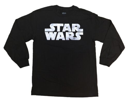 Star Wars Movie Simple Logo Adult Long Sleeve Shirt