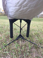 Bigfoot Goose Decoys Motion Kit Six Pack Waterfowl Hunting Decoy Kit