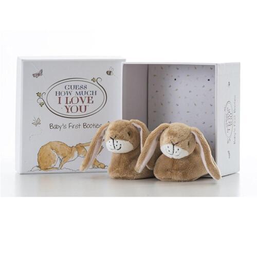 0-6 Monate Guess How Much I Love Du Baby/'s Erste Babyschühchen Geschenk Set