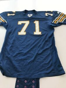 Game Worn Used Pittsburgh Panthers Pitt Football Jersey Size 56 #71
