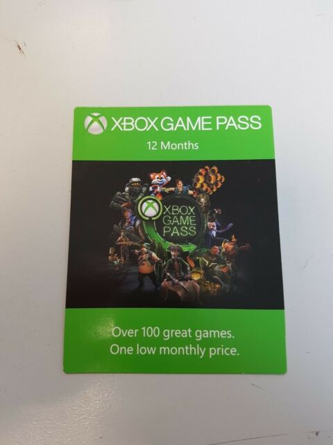 XBOX GAME passe 12 Month code (presque Delivery par mail)