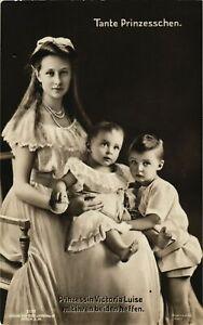 CPA-AK-Prinzessin-Victoria-Luise-mit-Neffen-GERMAN-ROYALTY-867827