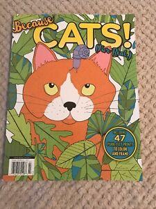 Topix Media Specials Because Cats Fur Real Coloring Book Free Shipping 74470701286 Ebay