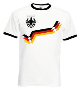 DEUTSCHLAND FUSSBALL WM 2018 FANSHIRT T-Shirt Herren S-XXL