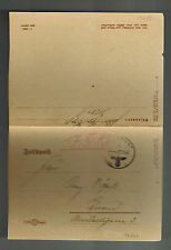 1943 Germany Feldpost Cover to Posen 5th Mountain DIvision Finland Leningrad