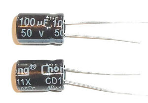E-Projects-100uF-50V-105c-Radial-Electrolytic-Capacitor-5-Pcs-Tracking