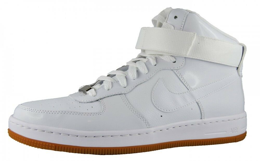 NIKE Damenschuhe AIR FORCE 1 AF1 ULTRA FORCE MID WEISS Sz 6-10.5 654851-100