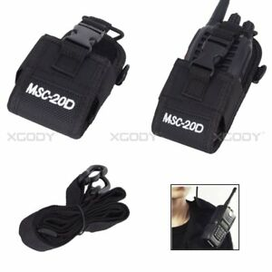 Outdoors-Walkie-Talkie-Pouch-Bag-Case-For-Two-Way-Radios-Baofeng-Motorola-ect
