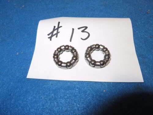 """Bicycle #13 Bearing for Front//Rear Hub for 3//8/"""" Axle Set of 2 New"""