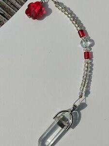 Quartz-Man-made-Pendulum-Reiki-blessed-hand-crafted