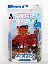 Star Wars 2009 Walmart Ex Comic Packs_The Ewoks_MACHOOK_KEOULKEECH & KETTCH_MIP