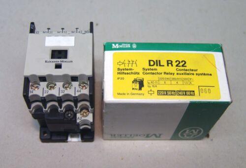 2x Siemens Last-Fernschalter 5TT3 801 Contactor Schütz 230V~ 220V 4S 24A VE:2Stk